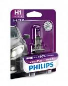 Philips VisionPlus H1 12V 55W Автолампа галоген, 1шт