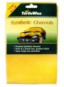 Turtle Wax Synthetic Chamois Салфетка замшевая влаговпитывающая 53х48см