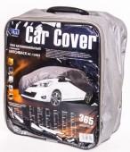 Vitol Тент автомобильный нейлоновый с подкладкой на хэтчбек PEVA + non Woven, XL