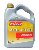 Ardeca Synth-LL 5W-30 Синтетическое моторное масло