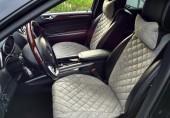 Аvторитет Premium Накидка на переднее сиденье, серый, 2шт