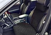 Аvторитет Premium Накидка на переднее сиденье, черный, 2шт