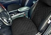 Аvторитет Premium Накидки на передние и задние сиденья, черный