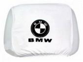 Autoprotect Чехлы на подголовники BMW, белые