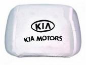 Autoprotect Чехлы на подголовники KIA, белые