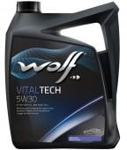 Wolf Vitaltech 5W-30 Синтетическое моторное масло