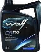 Wolf Vitaltech 5W-40 Синтетическое моторное масло