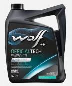 Wolf Officialtech C3 5W-30 Синтетическое моторное масло