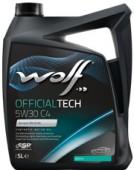 Wolf Officialtech C4 5W-30 Синтетическое моторное масло