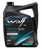Wolf Officialtech MS-F 5W-30 Синтетическое моторное масло