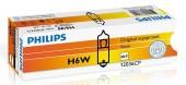 Philips Standart H6Вт 12V 6W Автолампа галоген, 1шт