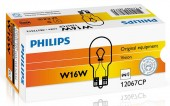 Philips Standart W16W 12V 16W Автолампа галоген, 1шт