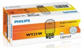 Philips Standart WY21W 12V 21W Автолампа галоген, 1шт