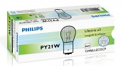 Philips LongLife EcoVision PY21W 12V 21W Автолампа галоген, 1шт