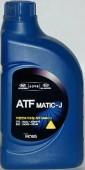 Hyundai / Kia (Mobis) ATF MATIC- J Оригинальное трансмиссионное масло