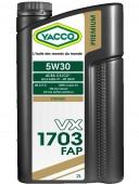 Yacco Premium VX 1703 5W-30 Синтетическое моторное масло