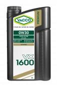 Yacco Premium VX 1600 0W-30 Синтетическое моторное масло