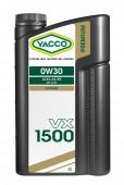 Yacco Premium VX 1500 0W-30 Синтетическое моторное масло