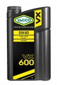 Yacco VX 600 5W-40 Синтетическое моторное масло