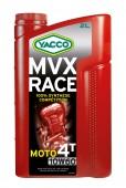 Yacco MVX RACE 10W-60 Синтетическое масло для 4Т двигателей