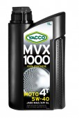 Yacco MVX 1000 4T 5W-40 Синтетическое масло для 4-тактных двигателей