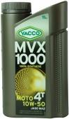 Yacco MVX 1000 4T 10W-50 Синтетическое масло для 4Т двигателей