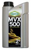 Yacco MVX 500 2T Полусинтетическое масло для 2Т двигателей мотоциклов