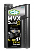 Yacco MVX QUAD 4 SYNTH 5W-40 ������������� ����� ��� 4-������� ���������� ����������� ������������ � UTV