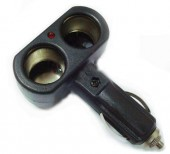 Vitol PC-12250 Разветвитель автомобильного прикуривателя 2 выхода black