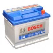 Bosch S4 Silver 60Аh 540A -/+ Аккумулятор автомобильный
