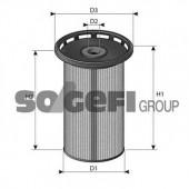 PURFLUX C803 Топливный фильтр