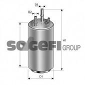 PURFLUX EP226 Топливный фильтр
