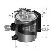 PURFLUX FCS740 Топливный фильтр