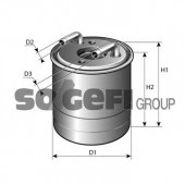 PURFLUX FCS785 Топливный фильтр