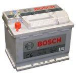 Bosch Аккумулятор автомобильный Bosch S5 SILVER 63 А*ч +/- 610A