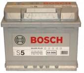 Bosch Аккумулятор автомобильный Bosch S5 SILVER 63 А*ч -/+ 610A