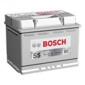Bosch Аккумулятор автомобильный Bosch S5 SILVER 74 А*ч -/+ 750A