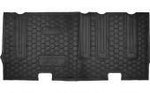 Avto-gumm Коврики в салон для Hyundai H-1 '08- третий ряд, резиновые черные