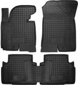 Avto-gumm Коврики в салон для Kia Sportage lll '10-, резиновые черные