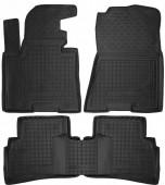Avto-gumm Коврики в салон для Kia Sportage lV '16-, резиновые черные