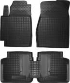 Avto-gumm Коврики в салон для Toyota Camry (V30) '02-06, резиновые черные