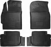 Avto-gumm Коврики в салон для Toyota Corolla '13-, резиновые черные