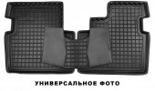 Avto-gumm Коврики в салон для VW T 5 '10- Multivan второй ряд, резиновые черные