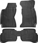 Avto-gumm Коврики в салон для VW Passat B5, резиновые черные