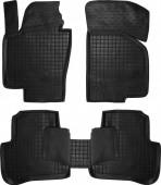Avto-gumm Коврики в салон для VW Passat B6 / B7, резиновые черные