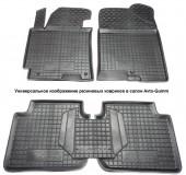 Avto-gumm Коврики в салон для VW Caddy '13- 4двери, резиновые черные