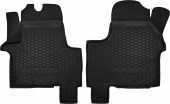 Avto-gumm Коврики в салон для Renault Trafic lll '15- передние, резиновые черные
