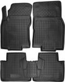 Avto-gumm Коврики в салон для Nissan X-Trail T32 '14-, резиновые черные