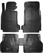 Avto-gumm Коврики в салон для BMW E39 5-серия '96-, резиновые черные