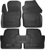 Avto-gumm Коврики в салон для Ford Focus '11-, резиновые черные